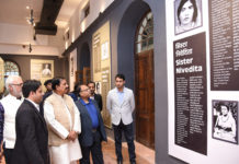 The Minister of State for Culture (I/C) and Environment, Forest & Climate Change, Dr. Mahesh Sharma visiting after inaugurating 'Azaadi ke Diwane' Museum, at Red Fort Complex, in Delhi on March 04, 2019.
