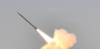 The Defence Research and Development Organisation (DRDO) successfully test fired the Guided PINAKA from Pokhran ranges, in Rajasthan on March 11, 2019.