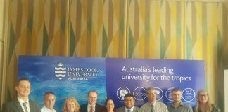 Caption Biggest delegation of Academics from James Cook University Australia visit India showcasing how imp India market is