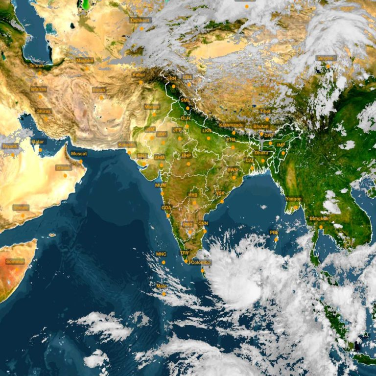 Depression over East Equatorial Indian Ocean & adjoining southeast Bay of Bengal