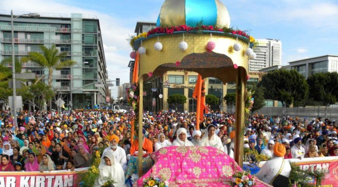 Sikh Dharma International organised 2019 Baisakhi Celebrations in Los Angeles