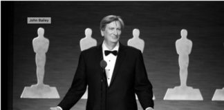 John Bailey - President of Academy of Motion Pictures Arts and Sciences