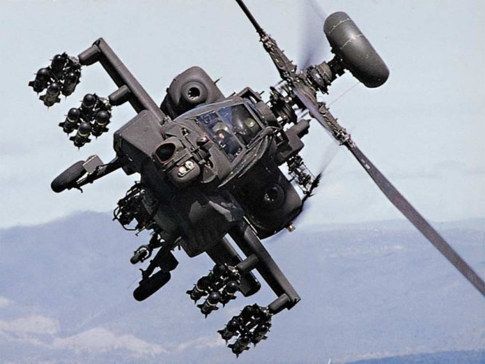 First Apache Helicopter formally handed over to The IAF