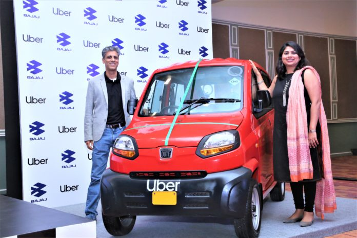 Nandini Maheshwari, Head, Business Development,Uber India & South Asia and Samardeep Subandh, Senior VP, Bajaj Auto_2