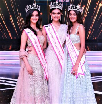 Shivani Jadhav, Femina Miss Grand India 2019; Suman Rao, Femina Miss India World 2019 & Shreya Shanker, Miss India United Continents 2019