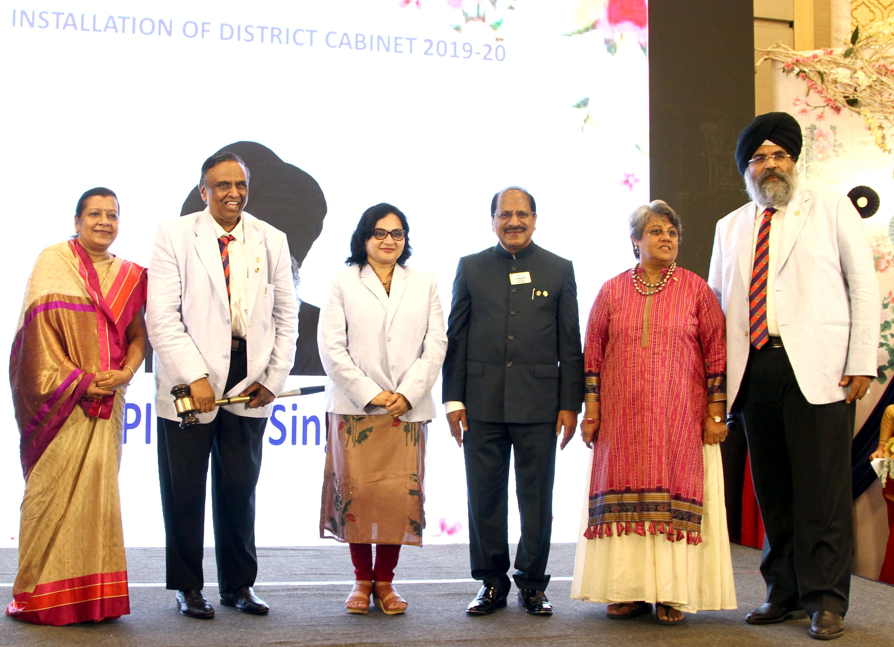 Lions Clubs International Organised Installation Ceremony Of