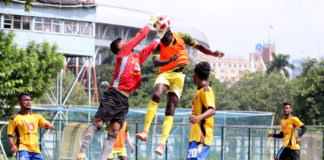 Mohammedan Sporting Club and Aryan Club played out a 1-1 draw
