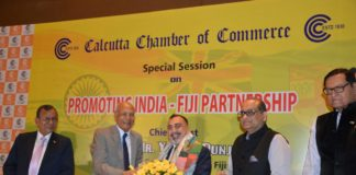 Calcutta chamber of commerce held a conference on Fiji Indian relations