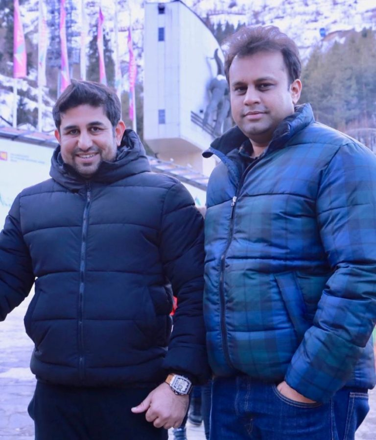 Magnificent Duo – Lala Ram and Tek Ram wonder brothers from Delhi, India