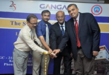 Dr Hari Venkatramani, Dr Raja Sabapathy, Dr Raja Shanmuga Krishnan during the launch of Ganga Hospital new outreach Breast Cancer Centre & Plastic Surgery Centre at Monotel, Kolkata_1