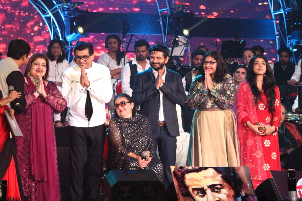 Ganguly Family at Tomay Poreche Event