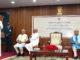 """The Vice President, Shri M. Venkaiah Naidu addressing the gathering after releasing the book """"The Dynamics of Indian Education"""", authored by the former Director, NCERT, Prof. J.S. Rajput, in New Delhi on August 01, 2019."""