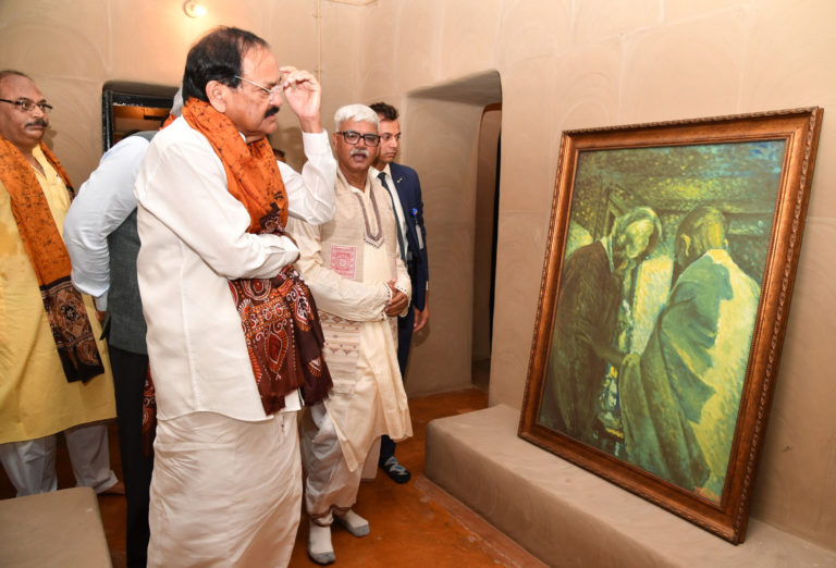 Vice President inaugurates and dedicates to the nation 'Shyamoli', the heritage house of Rabindranath Tagore