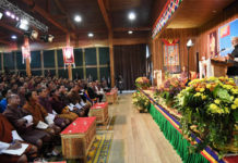 The Prime Minister, Shri Narendra Modi addressing at the Royal University of Bhutan, in Bhutan on August 18, 2019.