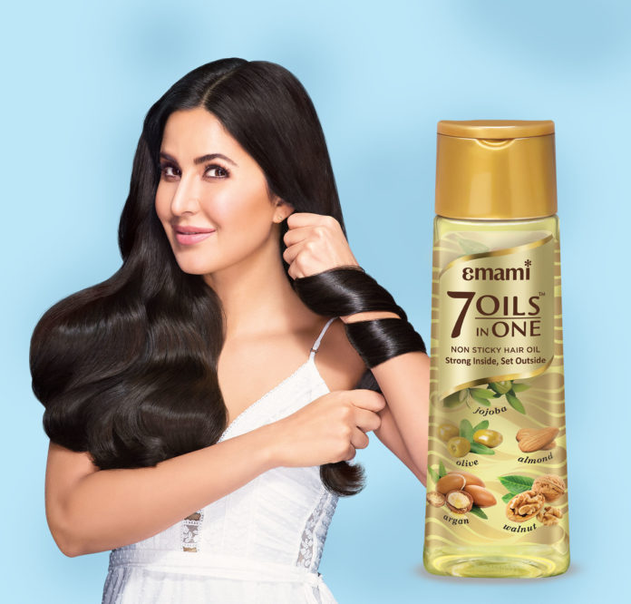 Katrina with 7 oils