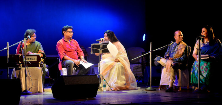Once again reason to be the Cultural Capital of India – TWO POETS CELEBRATED TAGORE AND GULZAR CONNECTION IN CITY