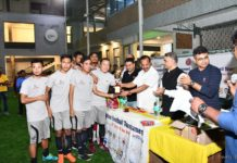 Bongio Samaj Bengaluru Fooyball Tournament