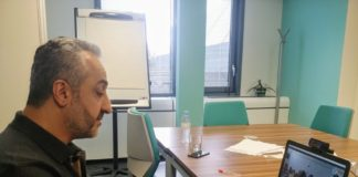 Baloch nationalist leader and President of Free Balochistan Movement Hyrbyair Marri