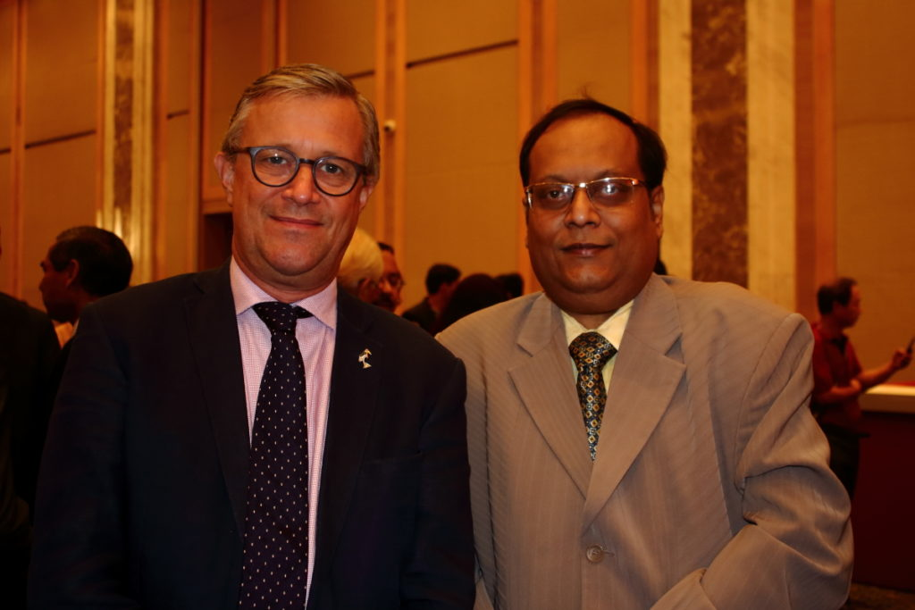 HE Bruce Bucknell Deputy High Commissioner UK to India and Sumn Munshi Founder IBG NEWS