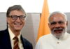 Modi and Bill Gates