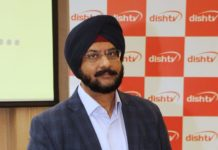Mr. Sukhpreet Singh, Corporate Head, Marketing, DishTV India Ltd.
