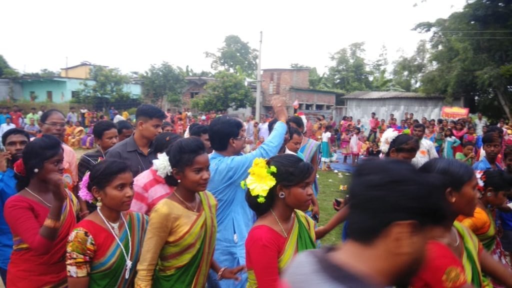 BJP Organized Santal Festival at South Dinajpur