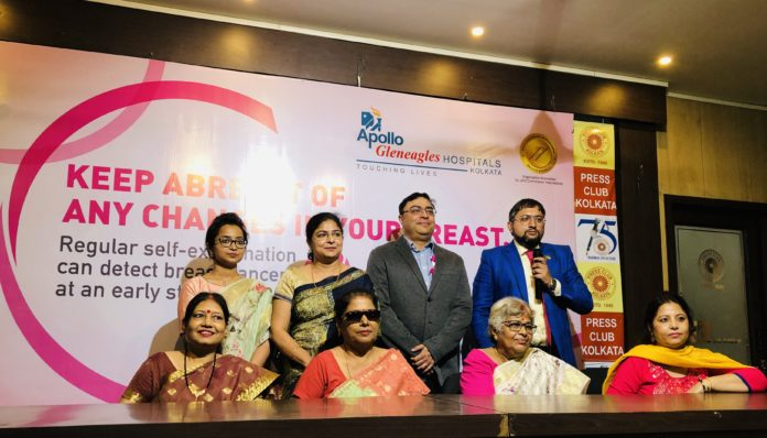 Apollo Breast Cancer 2019 -Doctors with survivors