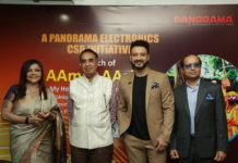 Joydeep Chowdhury, Carlyta Maria Mouhini and Arun K Gupta with Shaheb Bhattacharjee