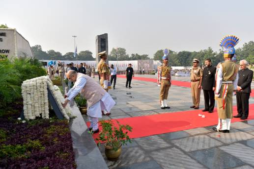 Union Minister of Home Affairs Shri Amit Shah presides as Chief Guest on the occasion of Police Commemoration Day