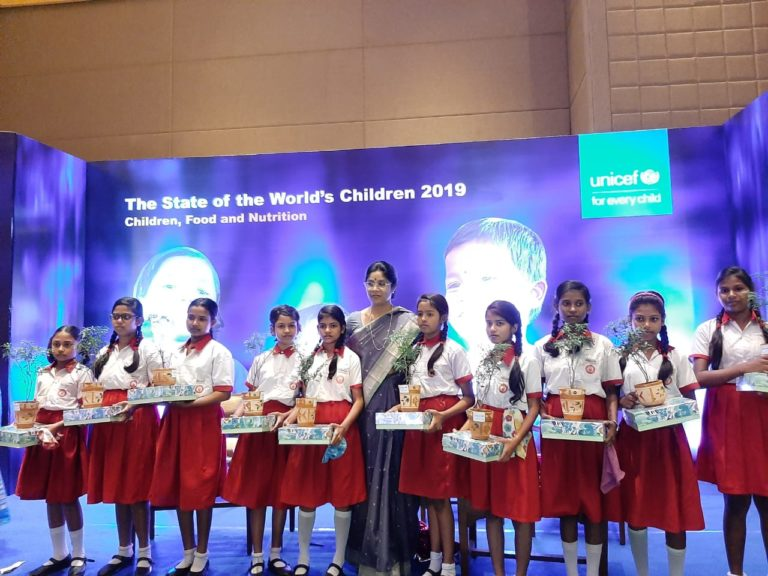 UNICEF releases The State of the World's Children report on Children, Food and Nutrition in Kolkata