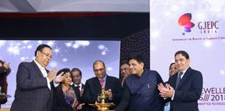 Gem & Jewellwery sector has Huge Potential; Must reach target of USD 75 BN faster-Piyush Goyal