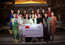 Chaitali Das & Women delegation from China