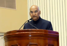 Address by the Hon'ble President of India Shri Ram Nath Kovind On the occasion of presentation of National Florence Nightingale Awards for Nursing Personnel