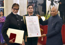 President of India Presents Dada Saheb Phalke Award