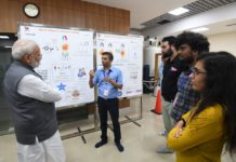 Prime Minister interacts with scientists at IISER, Pune
