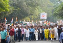 Mamata Banerjee protest march over NRC