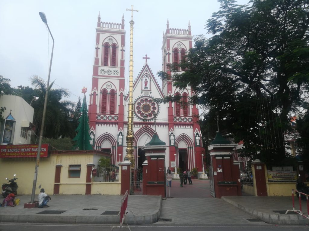 Church at Pondicherry