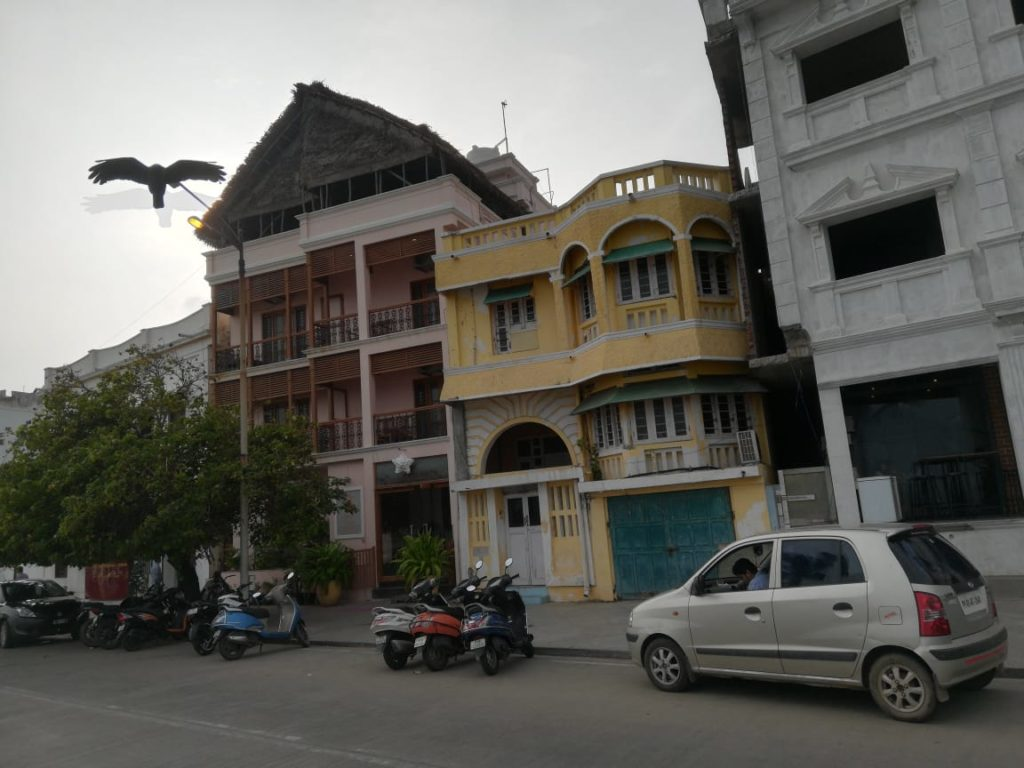 Pondicherry Seaside
