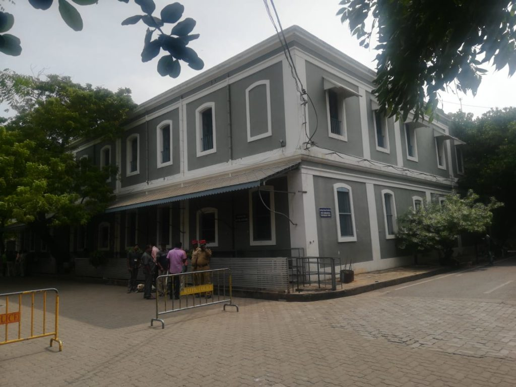 Aurovindo Ashram at Pondicherry
