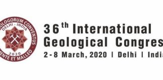 36th International Geological Congress in 2020