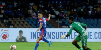 Sunil Chhetri 's goal helped Bengaluru FC extend their advantage against Jamshedpur FC in the Hero ISL today at Sree Kanteerava Stadium, Bengaluru