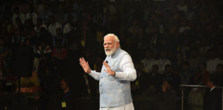 The Prime Minister, Shri Narendra Modi interacting with the students, teachers and parents during the 'Pariksha Pe Charcha 2020', in New Delhi on January 20, 2020.