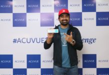 Rannvijay took the #Acuvue1DayChallenge in Kolkata.