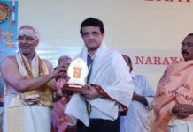 25th Year of Pratishta Divas of Narayan mandir in the presence of Shri Sourav Ganguly