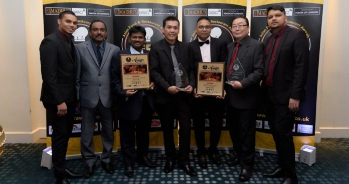 """Hakkaland adds two new feathers to its hat by winning 'Best Chinese Cuisine in United Kingdom' and """"Best Chef of the Year London 2019' at the Asian Food & Restaurant Awards (AFRA) 2019"""