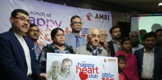 Happy Heart Club supported by AMRI Hospitals for Cardiac Support Group