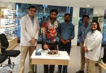 Happy Birthday Rajib at Titan Eye Plus Lalbazar