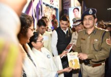 "CM Mamata Banerjee launched ""Uttaran"" a Book by IPS Humayun Kabir"