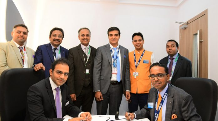 Ashish Rajvanshi, Head of Adani Defence & Aerospace & Anand Stanley, President and MD, Airbus India & South Asia
