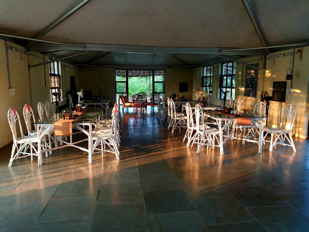 Foxtail Eco Retreat Dining Room at Tipeshwer